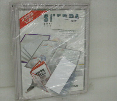 Durable Sherpa Display Panels 10 panels inserts, 5 index tabs