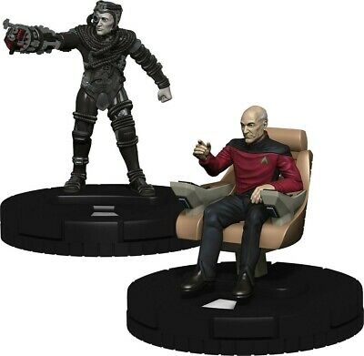 Heroclix Star Trek the Next Generation Resistance is Futile Gravity Feed Display