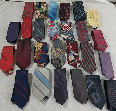 Men Fashion Silk Ties Pocket Square Handkerchief Yellow Paisley Stripe Lot HZ127