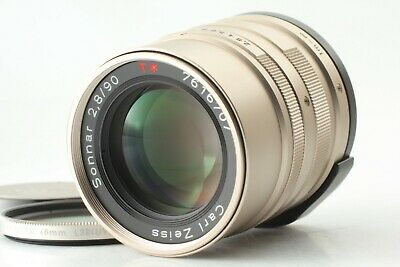 [EXC+++++] Contax Carl Zeiss Sonnar T* 90mm f/2.8 for G1 G2 From JAPAN #281