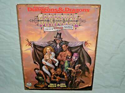 AD&D 2nd Edition RAVENLOFT Accessory -  CARNIVAL  (VERY RARE - UNUSED and EXC+!)