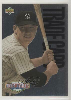 1994 Upper Deck Mantle's Long Shots Mickey Mantle (Trade for ) New York Yankees
