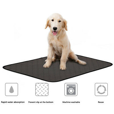 Reusable Puppy Pads Dog Pet Toilet House Training Wee Potty Urine Pee Mat Cat UK