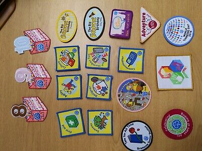 Brownie Guide Interest badges Various Girlguiding Badges...