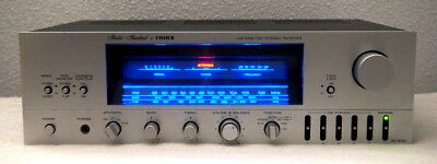 Vintage Fischer RS-3030 Stereo Receiver 2x30 Watt Blue Magic Display