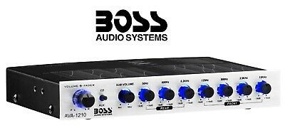 Boss Audio AVA-1210 - 7 Band Equalizer with Subwoofer Output 12dB