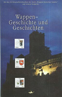 Dt.Post  1994  - Buch - Sonderedition - Wappen - Heraldik