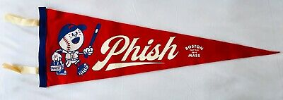 Phish boston Pennant fenway park red 2019 concert tour new