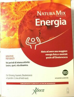aboca natura mix advanced energia 10 flaconcini da 15 g