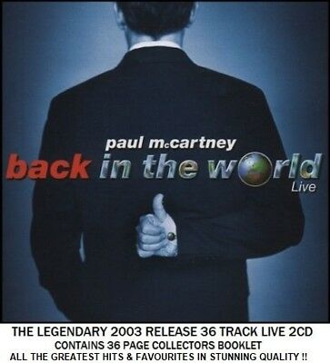 Paul McCartney - Best Greatest Hits Collection RARE 2003 Live 2CD Beatles Wings