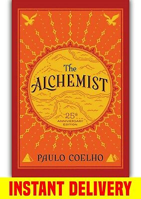 The Alchemist by Paulo Coelho ⭐️ INSTANT DELIVERY ⚡