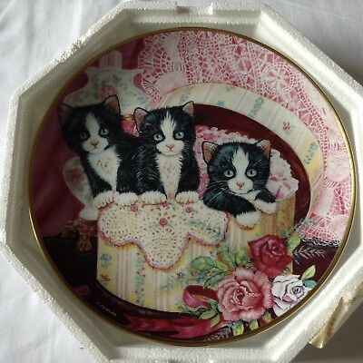 FRANKLIN MINT 'HIDE AND SEEK' COLLECTOR PLATE By K. Duncan (CATS/KITTENS)