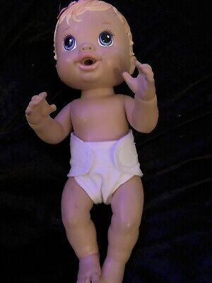 Dolls clothes. White Nappy size Small made to fit 32cm  Baby Alive dolls