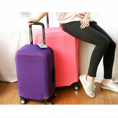 Travel Luggage Suitcase Cover Protector Elastic Scratch Dustproof Bag 20 24 28