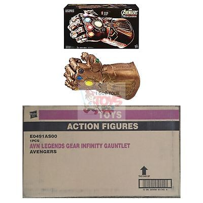 """THANOS INFINITY GAUNTLET Hasbro MARVEL LEGENDS GEAR 2018 19"""" Inches + SOUNDS"""