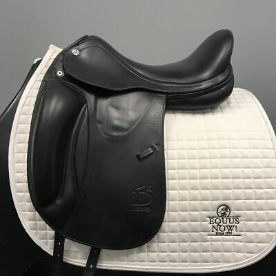 USED PRESTIGE ROMA Dressage 17 34 Black Saddle Inv: 3922