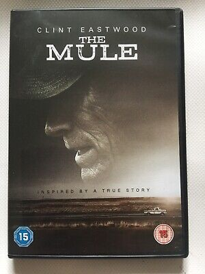 The Mule (DVD) Clint Eastwood View Once Prompt Free UK 🇬🇧 Post
