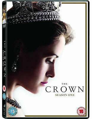 The Crown - The Complete Series 1 (4 Disc DVD Set) Season One Claire Foy