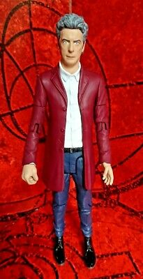 "DOCTOR WHO 5.5""  ACTION FIGURE - THE 12th TWELFTH DOCTOR in RED JACKET"