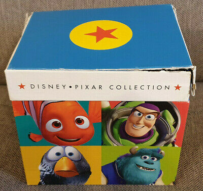 DVD Boxset The Disney Pixar Collection Damaged Box inc Toy Story Monsters Inc
