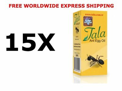 15 X 20Ml Tala Ant Egg Oil Hair Removal Free Shipping