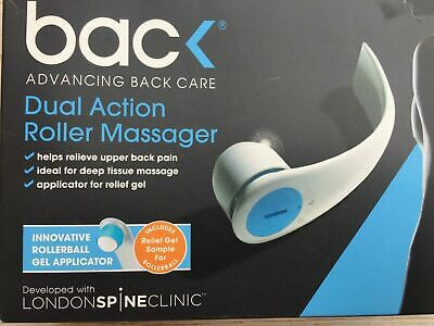 BAC BACK Advancing Back Care Dual Action Roller Massager Zone 2 | Fast Free Post