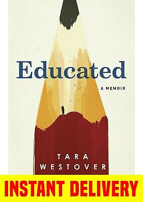 Educated : A Memoir by Tara Westover ⭐️Instant Email Delivery ⚡