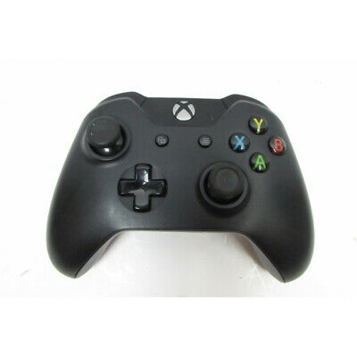 Microsoft 1708 Xbox One Bluetooth Wireless Controller - Black - 4841