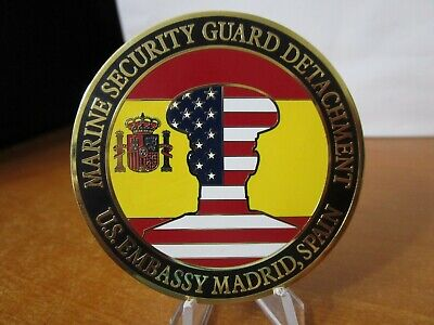 USMC MARINE SECURITY Guard Det t US Embassy Bangkok Thailand RARE