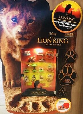 2019 McDonalds Disney THE LION KING Happy Meal Toys PICK YOUR OWN ships now!