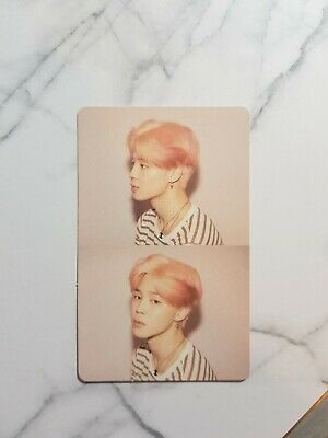 BTS Map of The Soul PERSONA Ver 1 Official Photocard Photo card Jimin Version 1