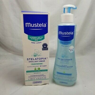 Mustela No Rinse Micellar Cleansing Water Face & Diaper Area 10.14 oz  EXP 2020