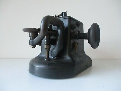 Antique Allbook Hashfield Success Industrial Fur and Leather Sewing Machine