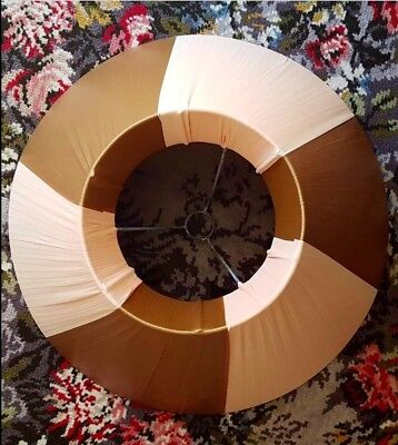 Vintage Barsony era large ribbon lamp shade