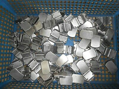 JOB LOT of 100 Buckles for webbing fabric belts, bags etc 1.5""