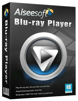 ⭐ Aiseesoft  Blu-ray Player |PC,Windows|Digital Download|Activation Code ⭐