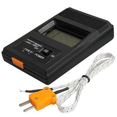 TM-902C LCD K Type Thermometer Meter Single Input Thermocouple Probe  Y0