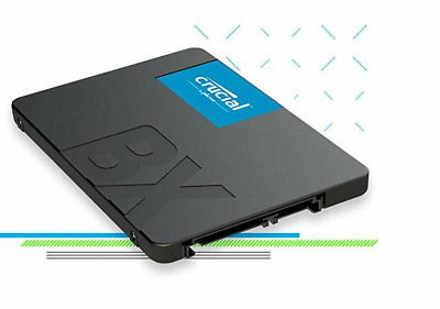 Crucial Internal Solid State Drive 240GB 3D NAND SATA 2.5 Inch 2018 Model BX500