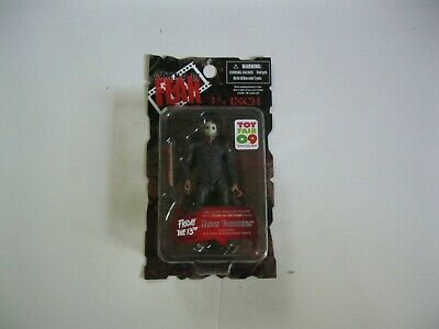 Mezco Cinema Of Fear Toy Fair Exclusive Friday 13Th Jason Voorhees Figure Sealed