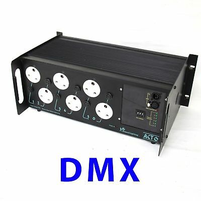 Strand Act 6 dimmer dmx theatre lighting use with zero 88 etc ion