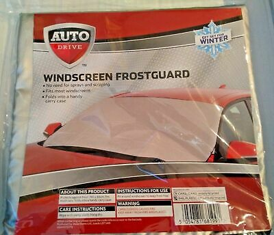 Windscreen Frost Ice Guard by Auto Drive   Fits Most Windscreens   Free Post