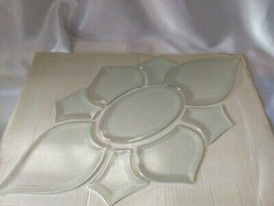"""Stained Glass 9 pieces Bevel Cluster 12"""" x 22"""", Stained Glass Supplies,"""