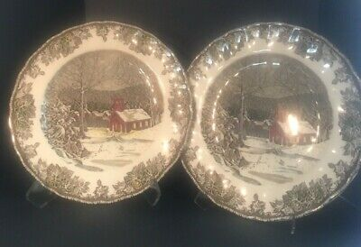 Johnson Brothers Friendly Village Dinner Plates Set of 2