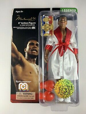 "Muhammad Ali Mego Boxing Legends Limited Edition 8"" Action Figure #8637/10000"