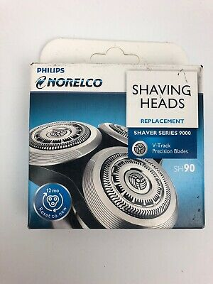 Philps Norelco SH90 Replacement Shaver Series 9000 V-Track Precision Blades
