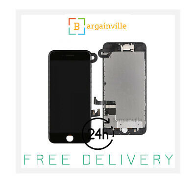 Apple Original Genuine iPhone 7 LCD Retina Screen With 3D Touch - Black
