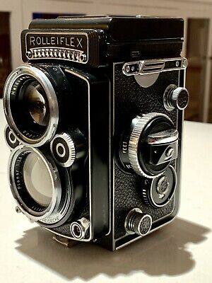 Rollieflex F 2.8 Planar  Camera & Accessories In Unusually Fine Condition