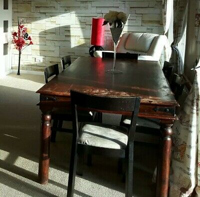 Brilliant John Lewis Rustic Solid Hardwood Dining Table With 8 Chairs Andrewgaddart Wooden Chair Designs For Living Room Andrewgaddartcom
