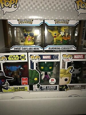Funko Pop Mystery Box A Day with Pikachu Blooming Curiosity RARE *Some Dmg Pops*