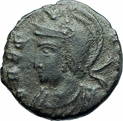ANONYMOUS Constantine the Great Dynasty 337AD Roman Coin VRBS ROMA i79266
